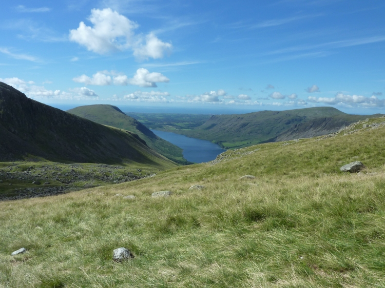 Looking back towards Wasdale Head and Wastwater