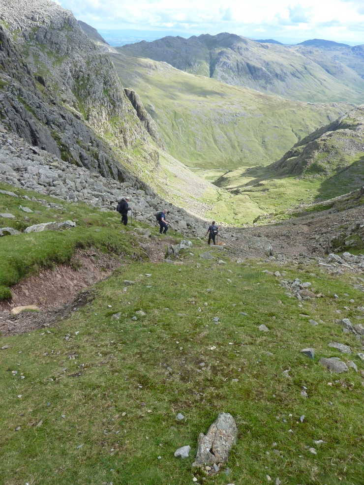Descending Narrowcove Gill