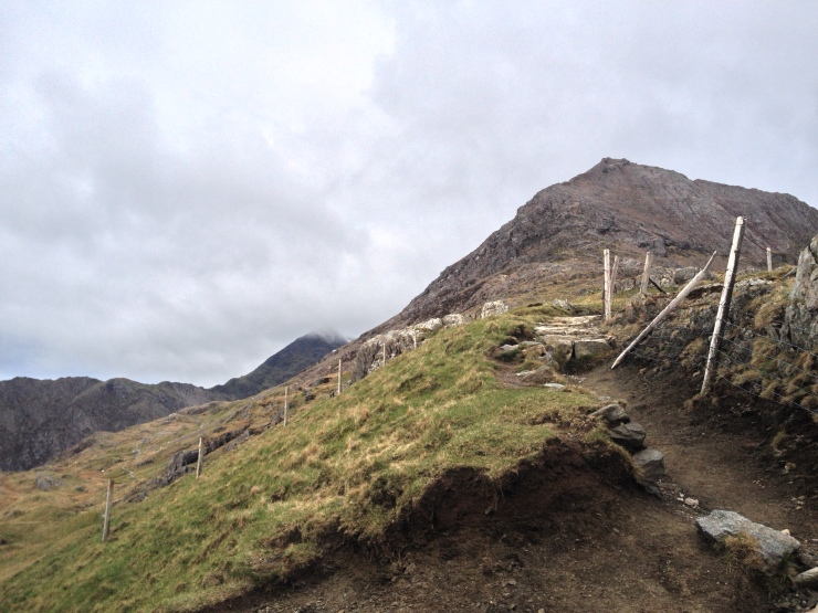 The start of the Climb onto Crib Goch