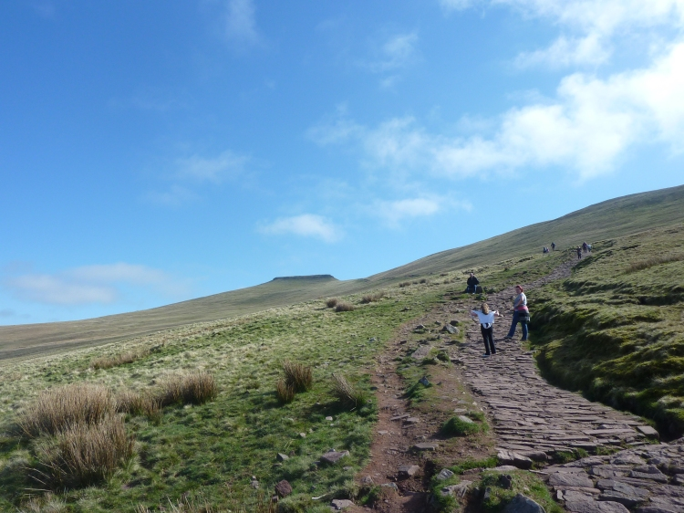 Start of Climb up to Pen Y Fan