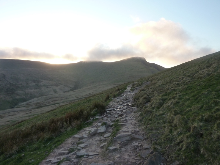 Late evening light on Pen Y Fan