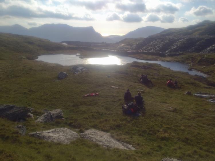 Wild Camp at Bwlch Cwm Llan