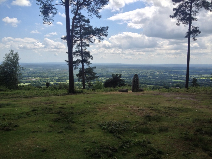 Top of Leith Hill