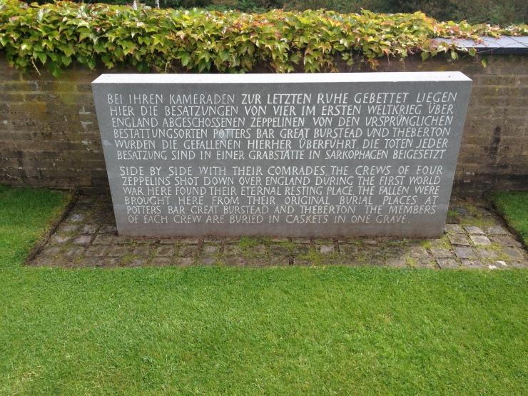 Memorial to German Zeppelin Crews