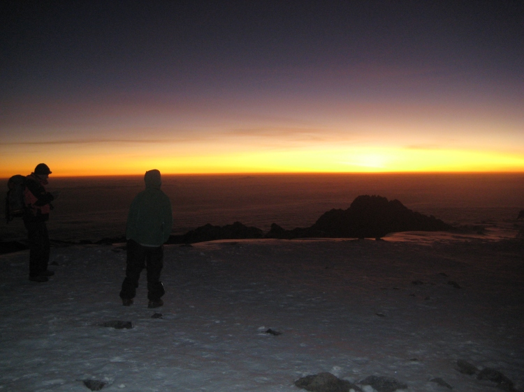 Kilimanjaro Summit Sunrise