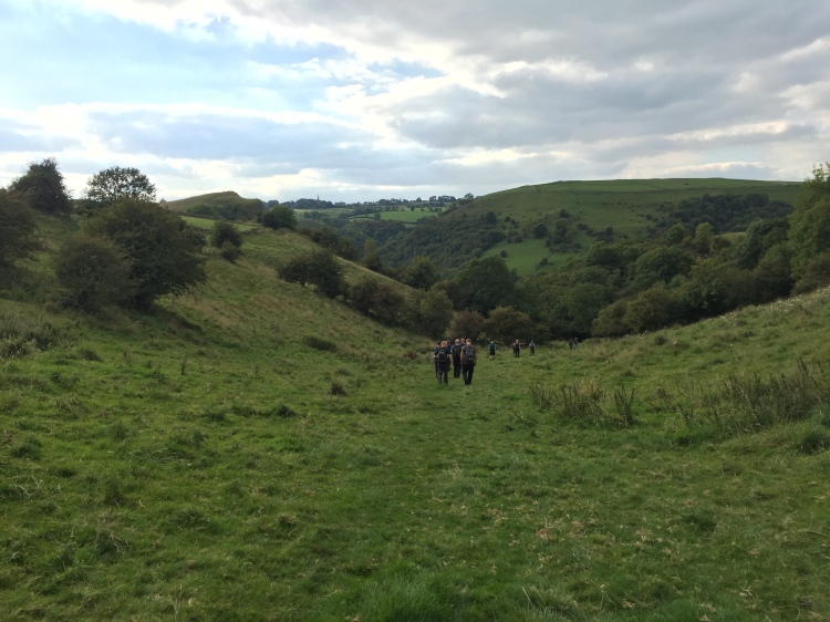 Descending towards Wetton Mill.