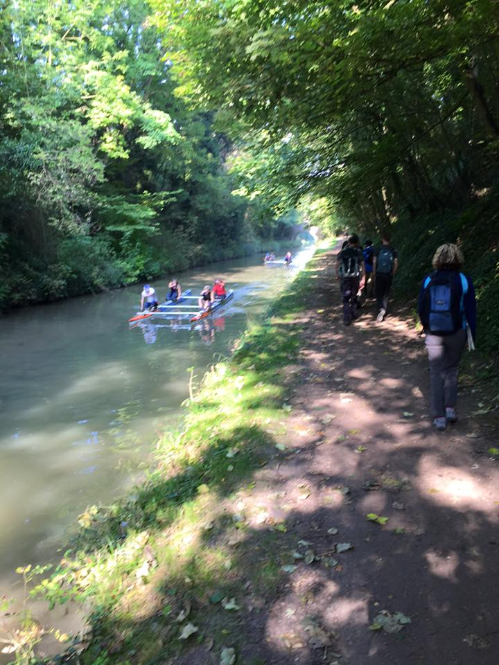 Walkers and Paddlers